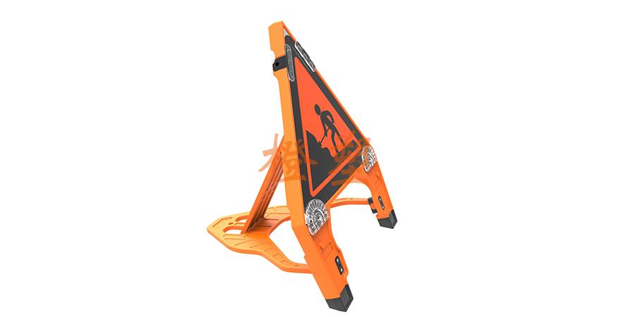 三角形塑料折叠式-2