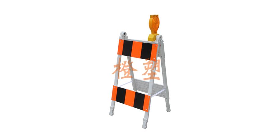 塑料A型支架护栏-2