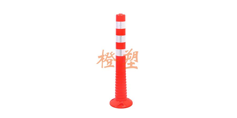 75Cm PU一体弹性警示柱-1